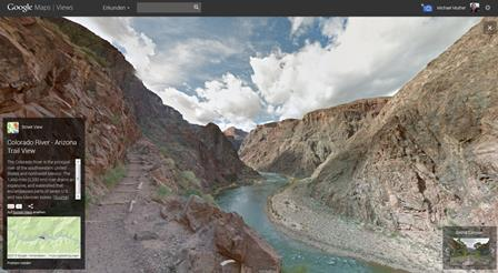 Grand Canyon Street View