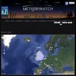 Sternschnuppen Sichtungen veröffentlichen (Google Maps Mashup)