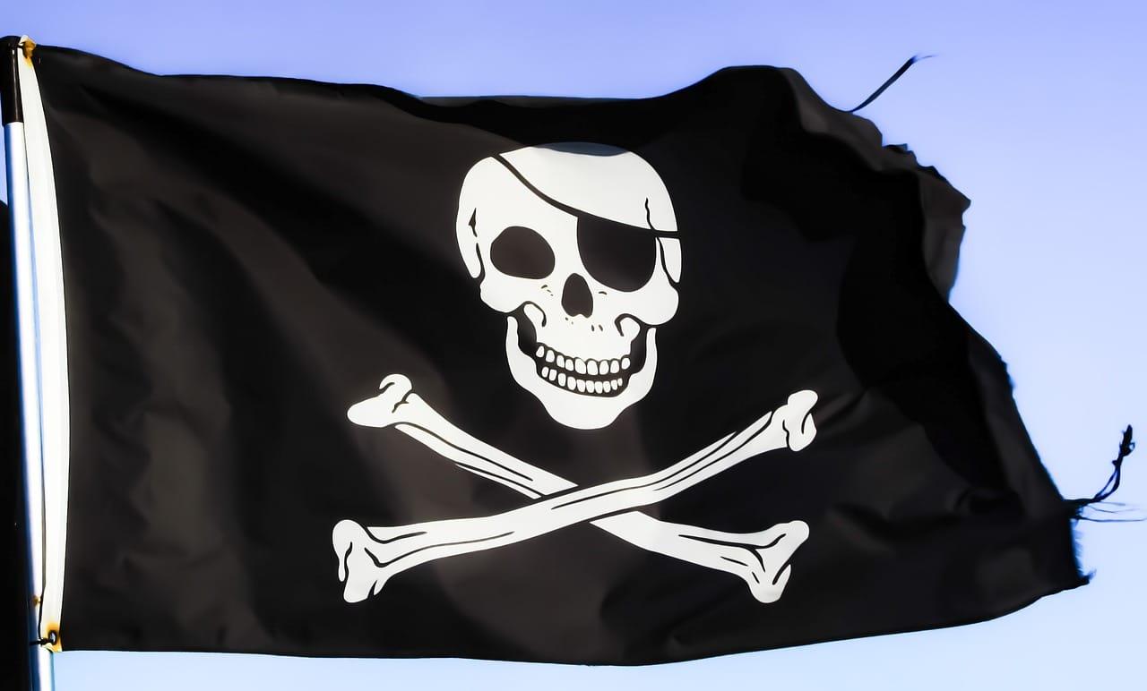 Piraten Schatzkarte drucken