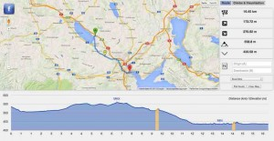 Mit dem Fahrrad-Routenplaner cycleroute.org planen Sie Ihre Bike Tour. Dank dem Webapp erkennen Sie die Höhenkurve Ihrer Tour.