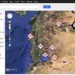 Krieg in Syrien – ein Karte zeigt mögliche Ziele der USA