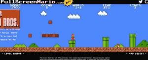 Mit Fullscreenmario.com können Sie Super Mario kostenlos online spielen.