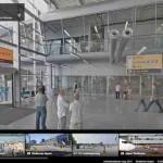 Flughafen Street View – Besuchen Sie Flughäfen, Bahnhöfe und Museen