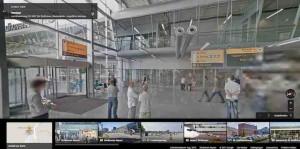Den Flughafen Eindhoven können Sie bereits in Street View Manier abschreiten.