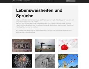 """Auf der Webseite """"lebensweisheiten-sprueche.ch"""" finden Sie tolle Zitate, Lebensweisheiten und Sprüche berühmter Philosophen, Gelehrter und weisen Menschen."""