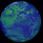 Globale online Windkarte