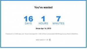 Wieviel Zeit verbringe ich auf Facebook? Ein toller online Selbsttest zeigt Ihnen, wieviel Zeit Sie bis heute verschwendet haben.