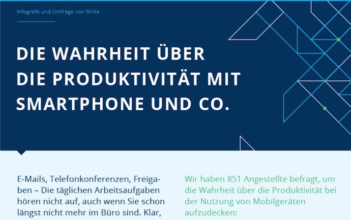 Hilft Ihr Handy Ihnen dabei produktiver zu sein Linkorama.ch