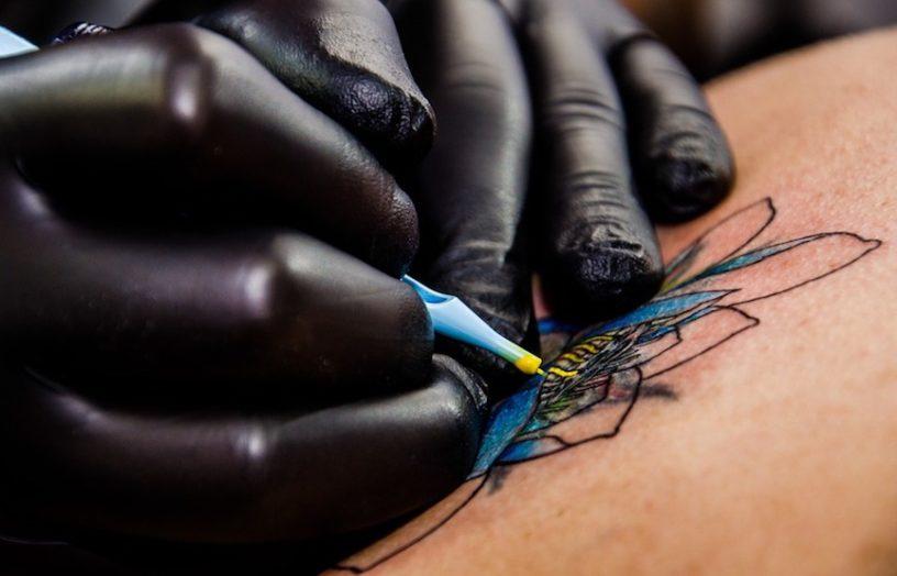 Wo machen Tattoos am wenigsten weh