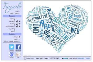 Online Wortwolke erstellen