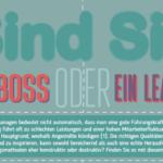 Boss oder leader