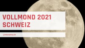 Vollmond-Schweiz