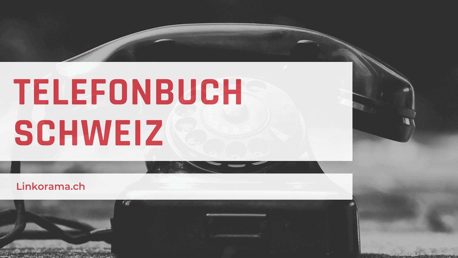 Telefonbuch-Schweiz